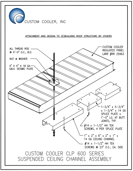 CLP_Susp Ceiling Channel Assembly